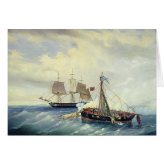 Off the coast of Nargen Island Card