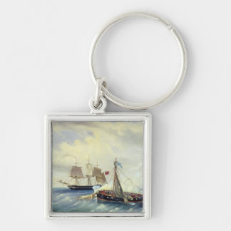 Off the coast of Nargen Island Keychain