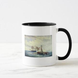 Off the coast of Nargen Island Mug