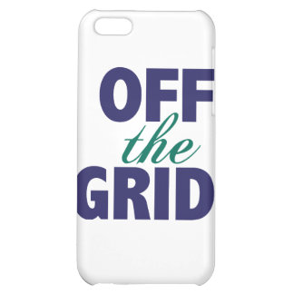 Off the Grid iPhone 5C Cases