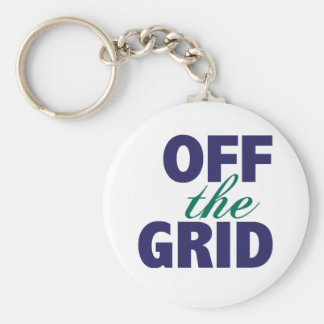 Off the Grid Keychain
