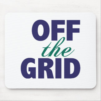Off the Grid Mouse Pad