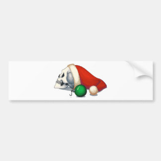 Off the Hook Holiday Cards Car Bumper Sticker
