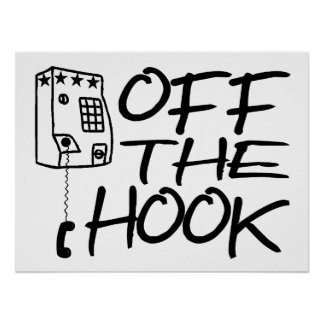 Off The Hook Pay Phone Poster