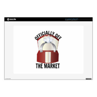"""Off The Market 15"""" Laptop Decals"""