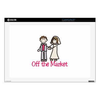 "Off the Market 17"" Laptop Skin"