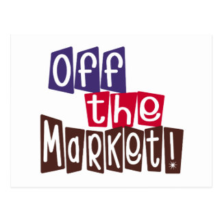 Off the Market T-shirts and Gifts Postcard