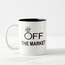 Off The Market Two-Tone Coffee Mug
