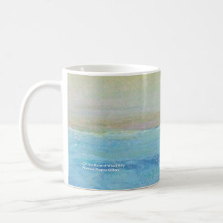 Off the Rocks at Wheal Kitty Classic White Coffee Mug