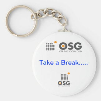 off the social grid key chain