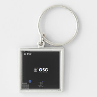 off the social grid key chain