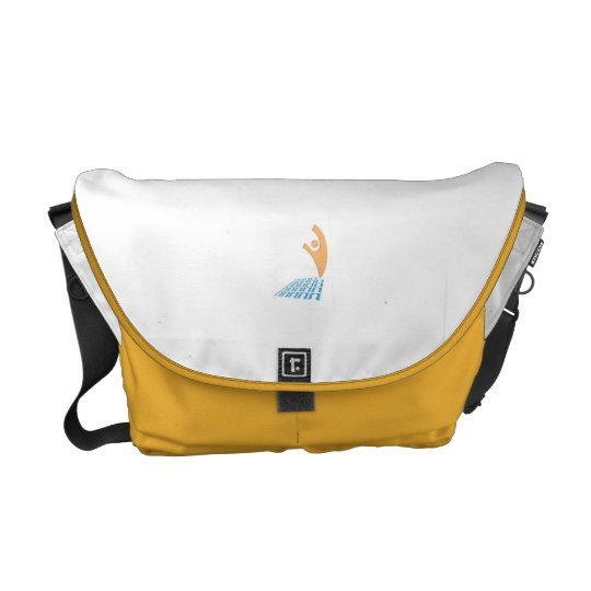 Off The Social Grid T-Shirt Courier Bag