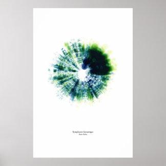 Off the Staff: Symphonie fantastique (color) Poster