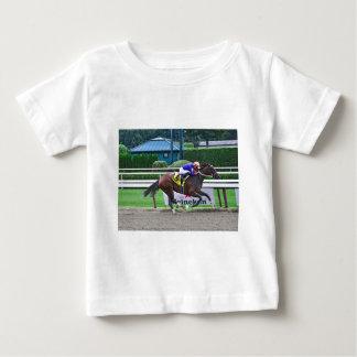 Off the Tracks by Curlin & Harve De Grace Baby T-Shirt