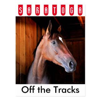 Off the Tracks Postcard