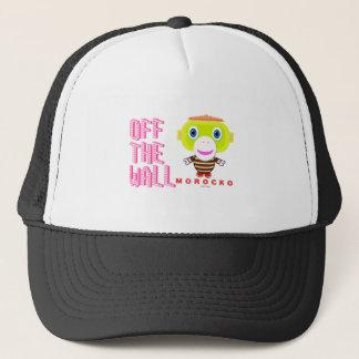 Off The Wall-Cute Monkey-Morocko Trucker Hat
