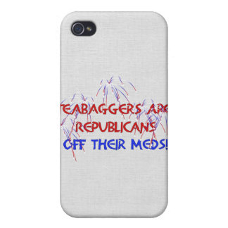 OFF THEIR MEDS CASE FOR iPhone 4