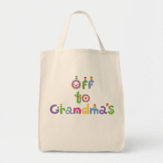 Off To Grandma's 2 Canvas Bag