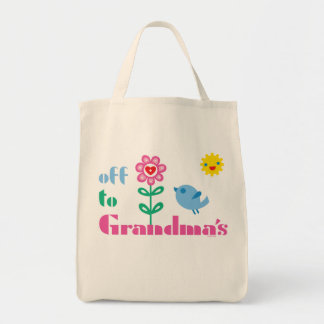 Off To Grandma'sOff To Grandma's tote bag. Off To