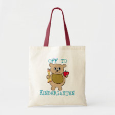Off to Kindergarten Bag