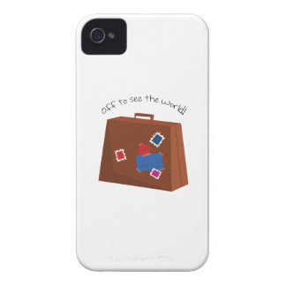 Off To See The World! Case-Mate iPhone 4 Cases