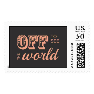 Off to See the World - For the Adventurer Postage