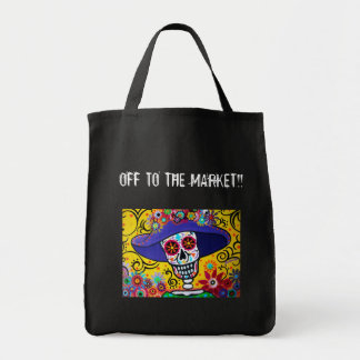 OFF TO THE MARKET BY PRISTINE TOTE BAG