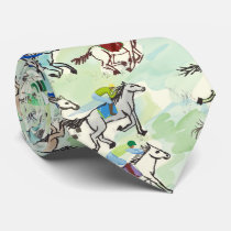 Off to the Races Tie