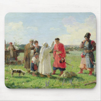 Off to the Zaporozhian Host, 1889 Mouse Pad