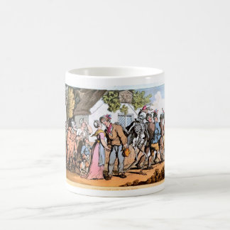 Off to War with Death mug