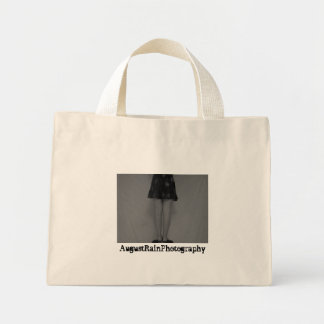 off-white bag w/black and white picture
