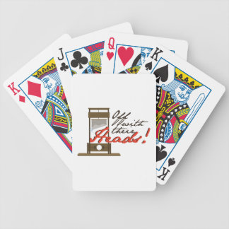 Off With Heads Bicycle Playing Cards