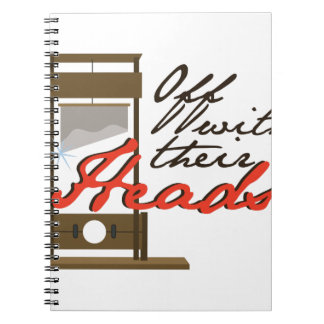 Off With Heads Notebook