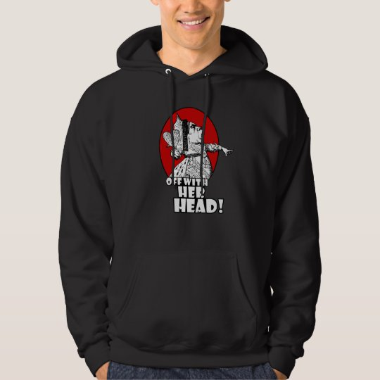 Off With Her Head Logo Hoodie