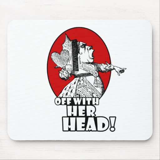 Off With Her Head Logo Mouse Pad
