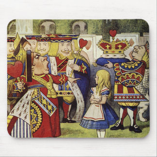Off with their heads Mouse Pad