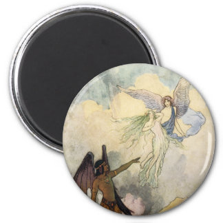 Off, ye icy Spirits, Fly 2 Inch Round Magnet
