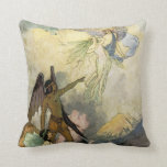 Off, ye icy Spirits, Fly Throw Pillow