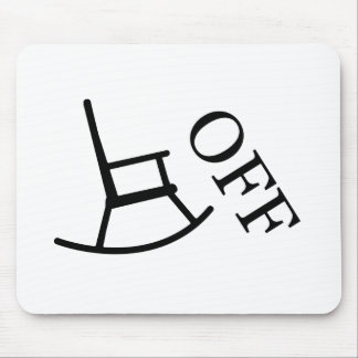 Off Your Rocker Mouse Pad