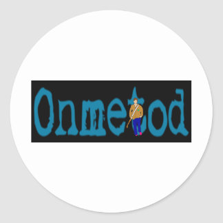 Offcial Onmetod Merchandise Classic Round Sticker