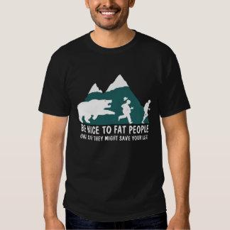 Offensive fat joke men's t shirt