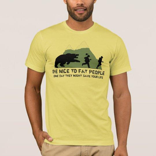 Offensive fat joke T-Shirt
