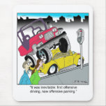 Offensive Parking Mouse Pad