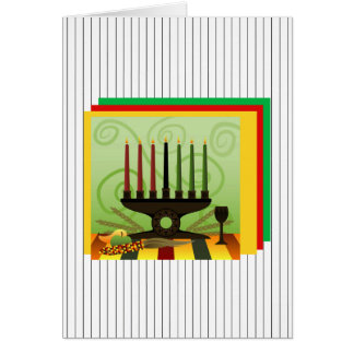 Offer Of Bounty Kwanzaa Holiday Greeting Cards
