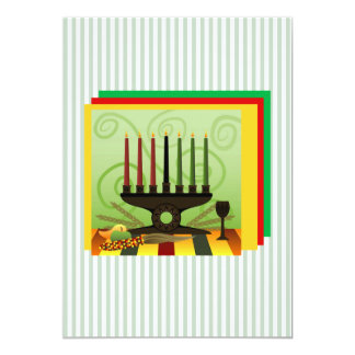 Offer Of Bounty Kwanzaa Holiday Party Invitations