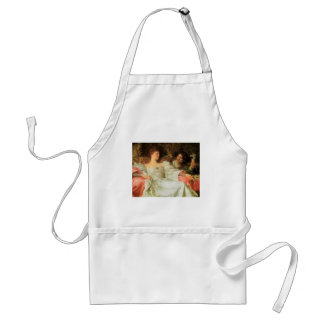 Offering a Romantic Gift Adult Apron