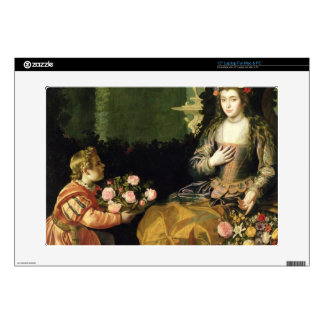 Offering to Flora, 1627 (oil on canvas) Laptop Skin