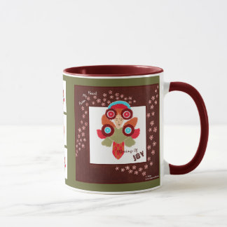 Offerings Of Joy-Positive, Whimsical ART Mug