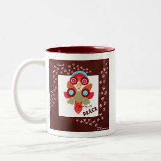 Offerings Of Peace-Whimsical ART Coffee Mug