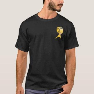 Offical Atlas Shrugged T - Black & Gold T-Shirt
